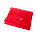 Personalised Red Snooze Pet Blanket - Classic font