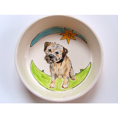 Large Personalised Dog Bowl 10