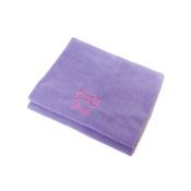 PetsPyjamas - Personalised Lilac Bone Dog Blanket - Italic Font