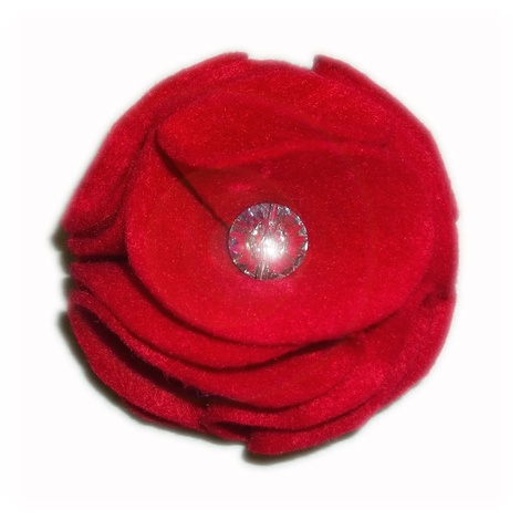 Poppy Red Collar Flower 2