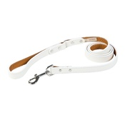 Auburn Leathercrafters - Tuscany Leather Dog Lead – White