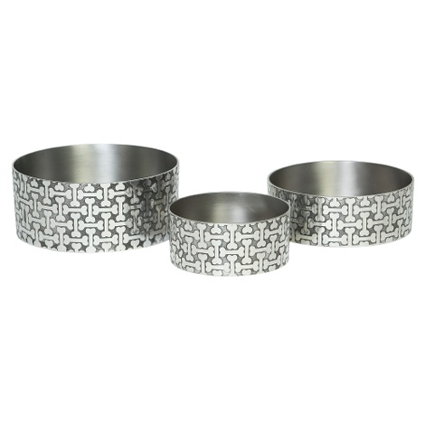 Bone-A-Fide Dog Bowl