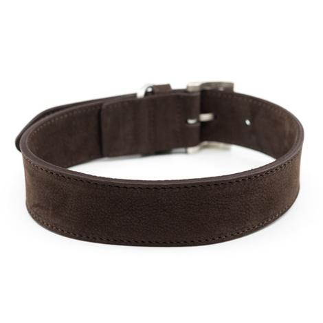 Nubuck dog collar - Bergamo 5