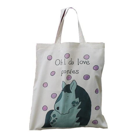 Ponies Shopper Bag