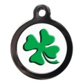 Four Leaf Clover Pet ID Tag