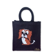Poochini Pets - Mini King Charles Bag - Black
