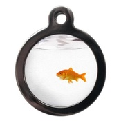 PS Pet Tags - Goldfish Cat Tag
