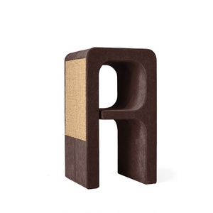 Scratching Post - Letter A - Brown