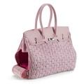 Chic Pink Pet Carrier Bag