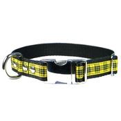 CanineAllStars - Scottish McLeod of Lewis Tartan Dog Collar – Black