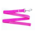 Pink Polka Dot Dog Lead