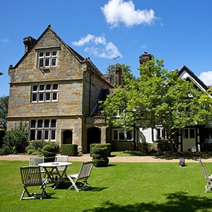 <strong>Ockenden Manor, West Sussex: </strong> Ockenden Manor has everything that you and your dog could need from a staycay. They offer every treatment for total relaxation with walks along the South Downs on your doorstep and an award-winning restaurant