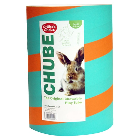Chewable Play Tube for Small Animal 4