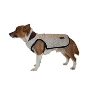 Pawberry - Chelsea Winter Warmer Dog Coat - Stone