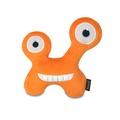 Orange Chatterbox Monster Plush Dog Toy