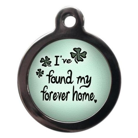 Forever Home Pet ID Tag
