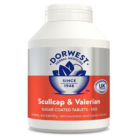 Scullcap & Valerian Tablets for Dogs and Cats 3
