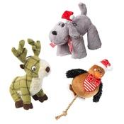 PetsPyjamas - Santa's Lucky Dip - 3 x Plush Toys