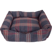 Hem & Boo - Tartan Check Rectangle Dog Bed