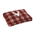 Rustic Tweed Mattress Dog Bed