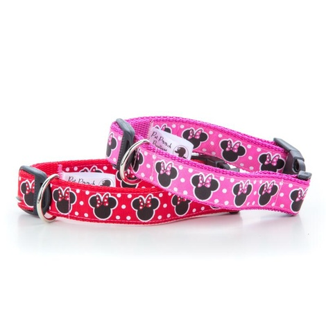 Minnie Mouse Red Dog Collar 3