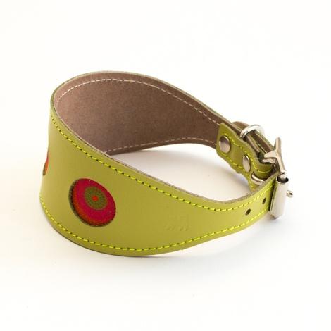 Shweshwe Kiwi Hound Collar