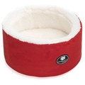 Cool Cat Snuggle & Snooze Pet Cat Bed in Red 2