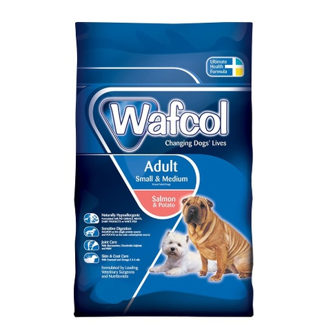 Adult Salmon/Pot Small/Med Breed Dog Food