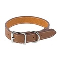 Tuscany Leather Dog Collar – Brown