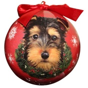 NFP - Yorkshire Terrier Puppy Christmas Bauble