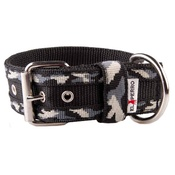 El Perro - Camouflage Kennel Dog Collar - Winter