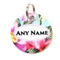 Ditsy Pet Rose ID Tag