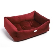 Pet Pooch Boutique - Ruby Red Cord Dog Bed