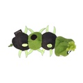 Green Scurry Monster Plush Dog Toy 2