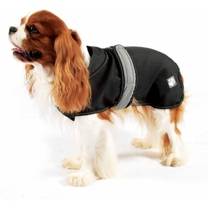 Reflective Dog Coat - Black