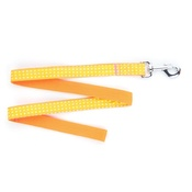 Pet Pooch Boutique - Yellow Polka Dot Dog Lead