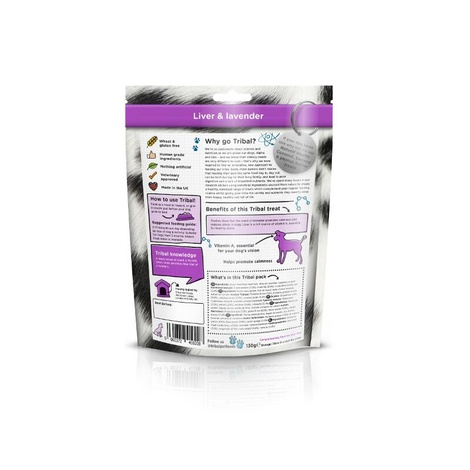 6 x Natural Support Liver & Lavender Dog Biscuit 2