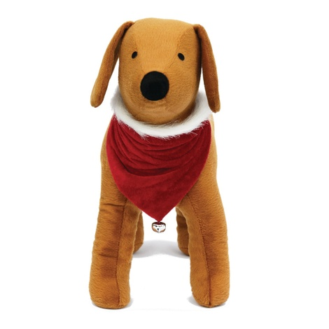 Doggy Things Christmas Bandana with Bell