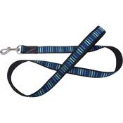 Hem & Boo - Striped Adjustable Dog Lead - Blue