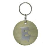 The Pet Jeweller - Alphabet Dog ID Tag - Plain silver on plain brass
