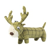 House of Paws - Green Tweed Long Stag Dog Toy