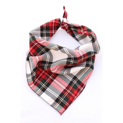 Alfies Plaid Bandana