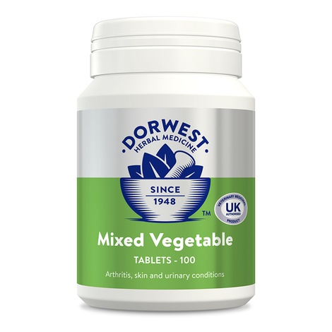 Mixed Vegetable Tablets for Dogs and Cats