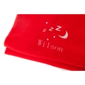 Personalised Red Snooze Pet Blanket - Classic font 2