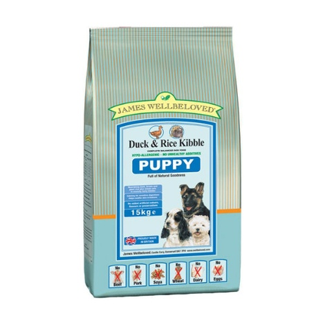 Puppy Duck & Rice Dog Food