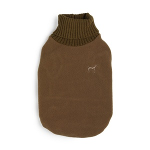 Fleece & Knit Dog Jumper – Coco