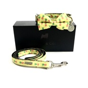 Percy & Co - Collar, Bow Tie and Lead Set - Soho