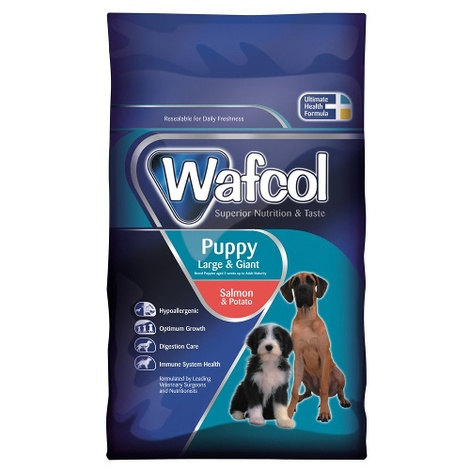 Wafcol Sensitive Salmon & Potato - Puppy Large/Giant 1