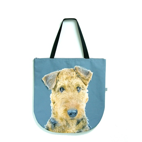 Annabelle the Airedale Terrier Dog Bag