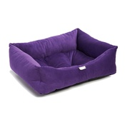 Pet Pooch Boutique - Purple Cord Dog Bed